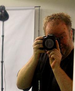 Manfred Hilberger mit Kamera