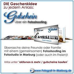 Gutschein für ein Fotoshooting in Marburg