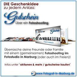 Gutschein für Fotoshooting in Marburg