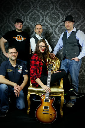 Band im Fotostudio in Marburg