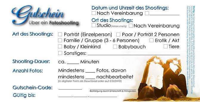 Gutschein bei Fotograf-in-Marburg.de