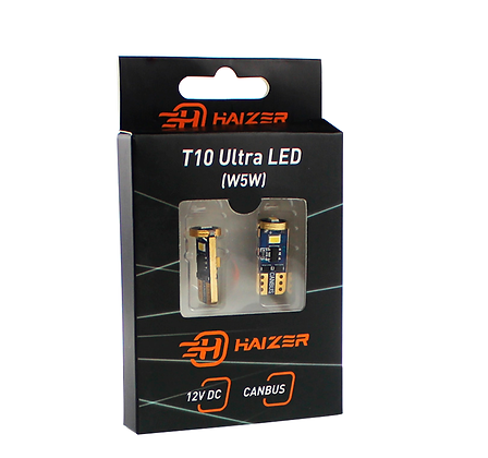 T10 Ultra LED Bulbs (W5W)