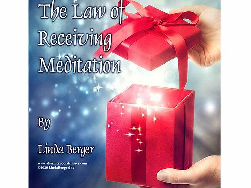 Law of Receiving Meditation