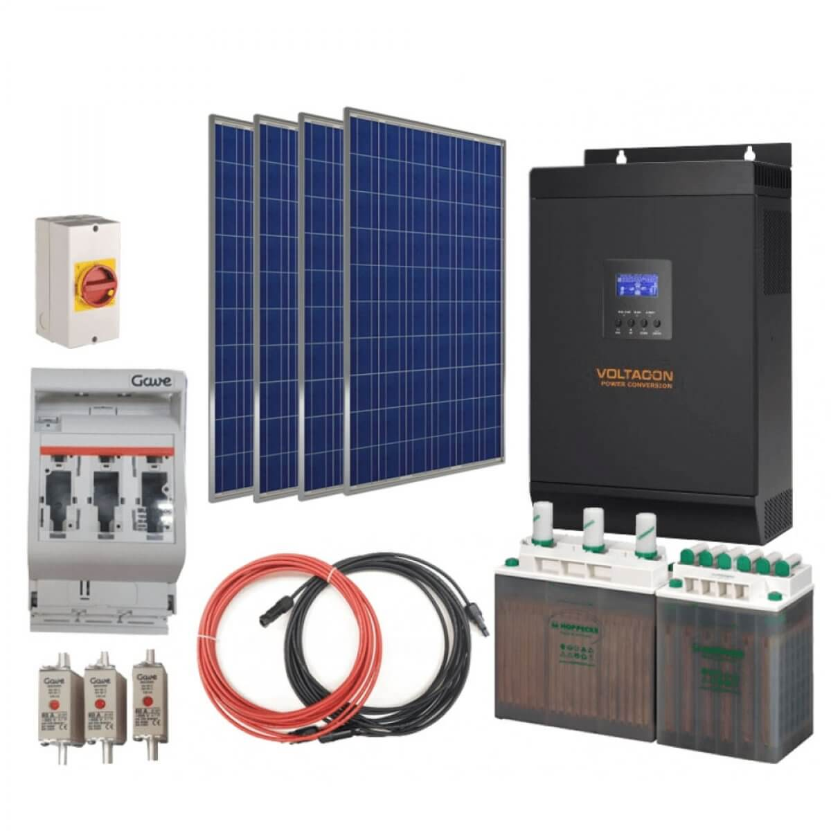Complete Solar PV Systems
