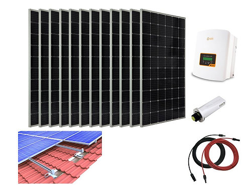 3720W Solar PV System Complete Set for Tiled Roof