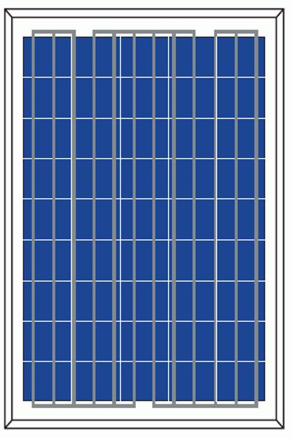 Polycristalline Silicon Module-P6-120/125