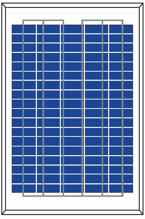 Polycristalline Silicon Module-P6-20