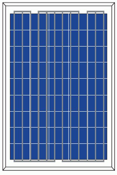 Polycristalline Silicon Module-P6-100/105