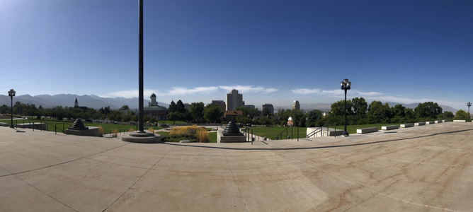 Utah State Capital Building Views