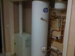 Worcester boiler install. Mundford.