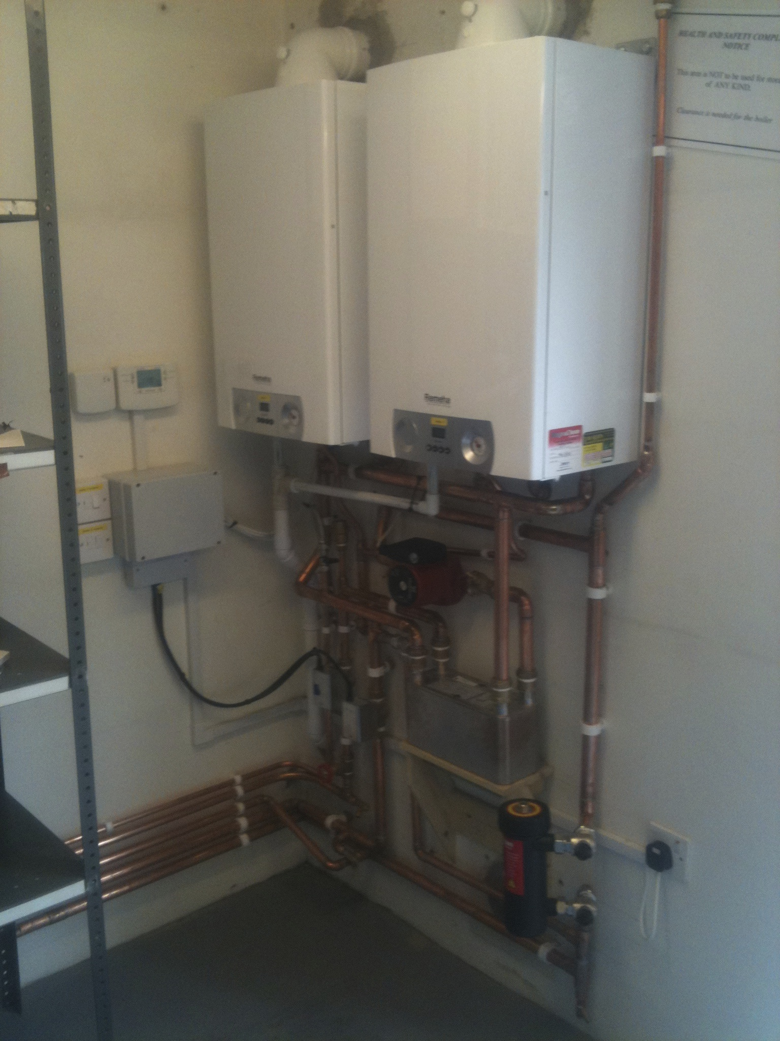 New Remeha Boilers, Thetford.