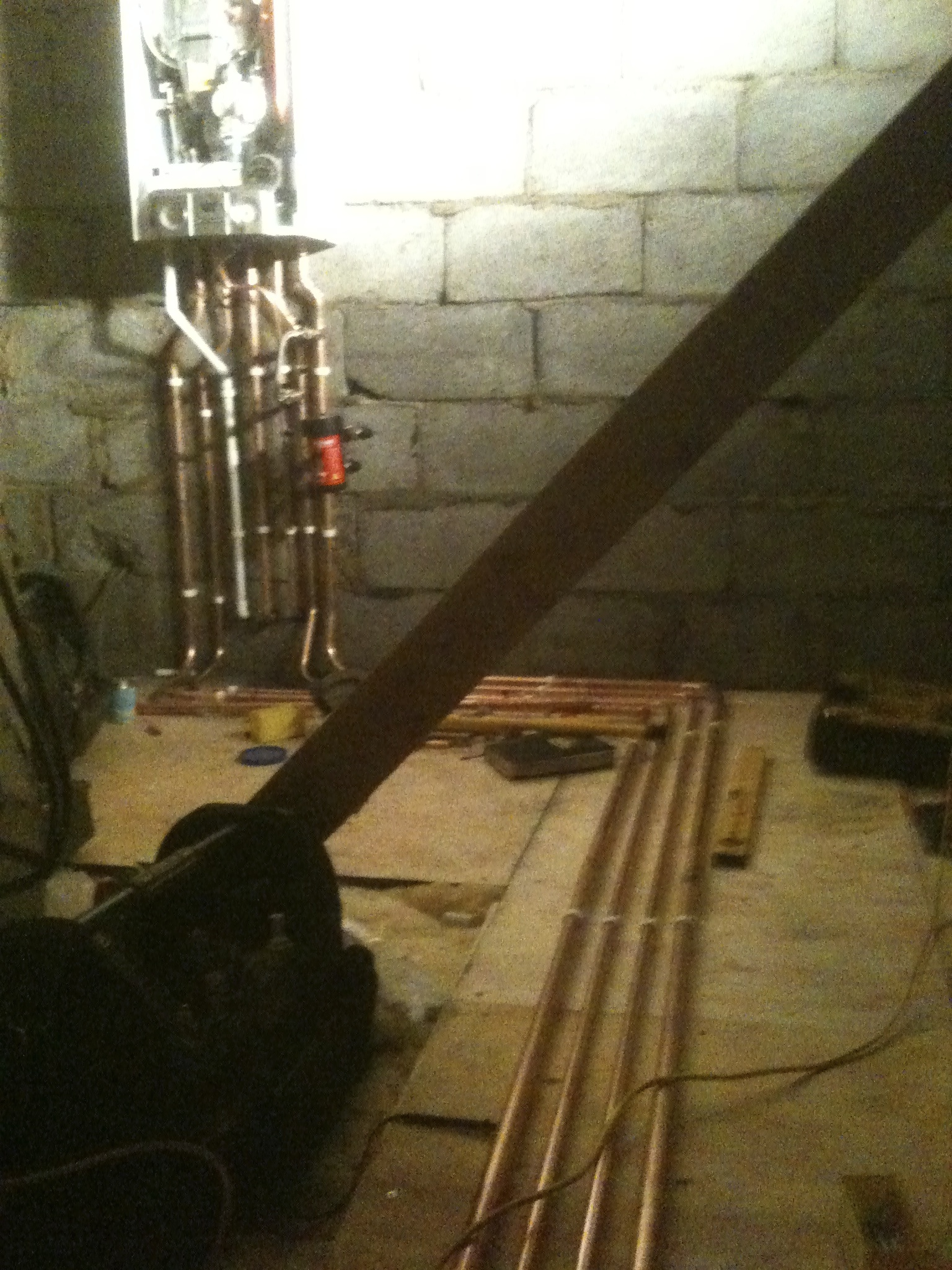 Abrey Farms, Remeha boiler install