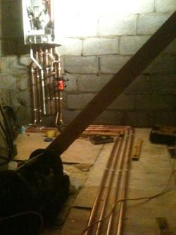 Abrey Farms, Remeha boiler install