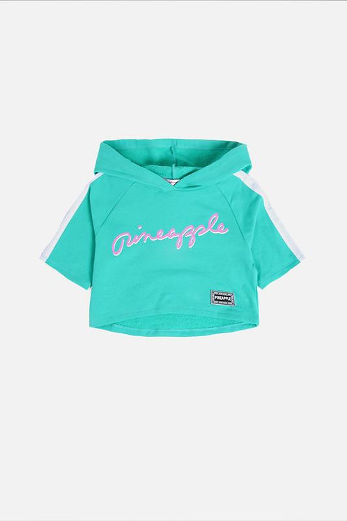 Pineapple Dance Girls Crop Hoodie