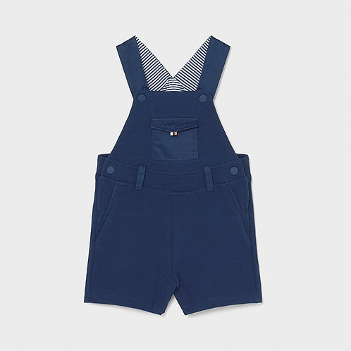Mayoral knit overall blue