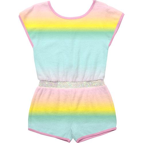 Billieblush Sleeveless Terry Towel Jumpsuit