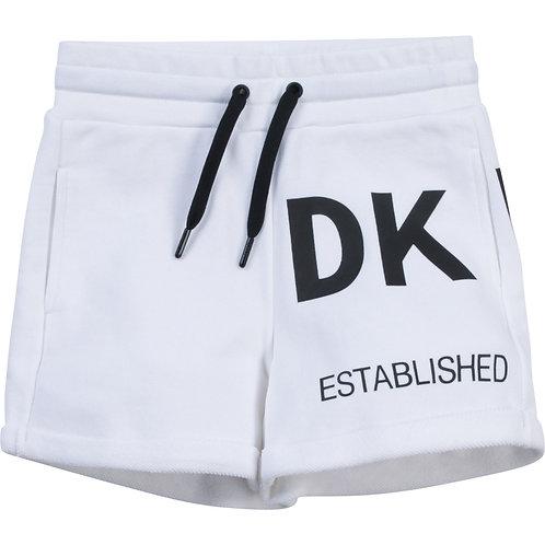 DKNY Girls white shorts