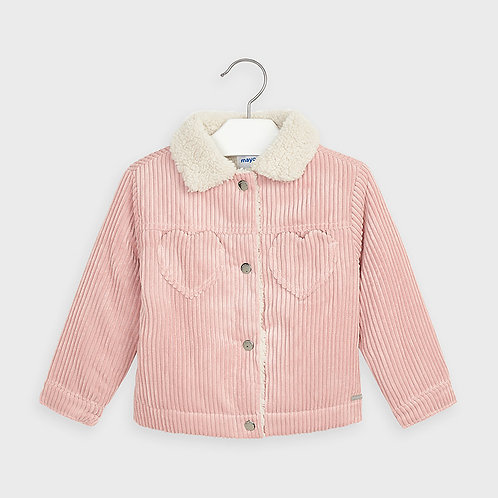 Mayoral Girls Courdory jacket in Blush