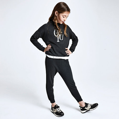 Mayoral Girls Knitted Joggers
