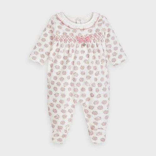 Mayoral Printed pajamas in Blossom