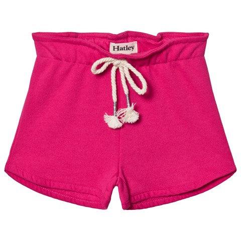 Hatley Fuchsia Blue Paper Bag Shorts