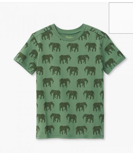 Hatley Elephant Herd Graphic Boys Tee