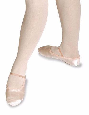 Roch Valley Premium Pink Satin Ballet Shoes