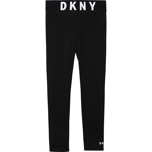 DKNY Cotton jersey leggings