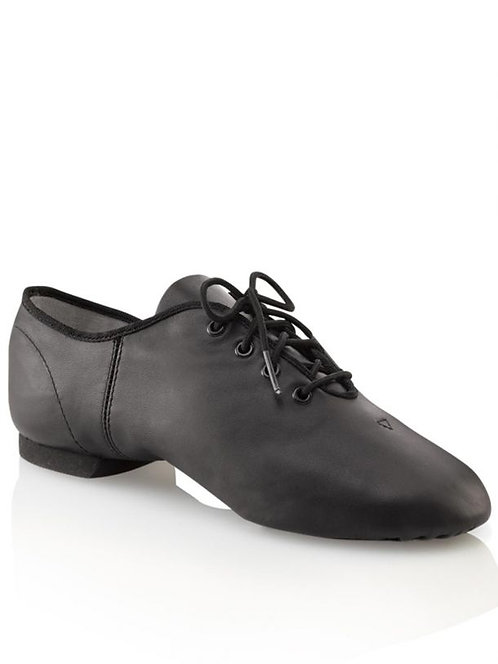 Capezio Split Sole Leather E-Series Jazz Oxford