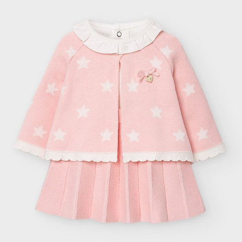 Mayoral Tricot skirt in Baby Rose