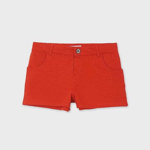 Mayoral Shorts for older girls in red