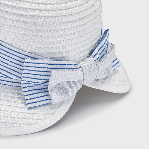 Mayoral striped hat Whit-Blue