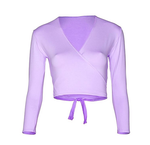 Lisa Maybank Primary Ballet: Crossover Wrap in Lilac
