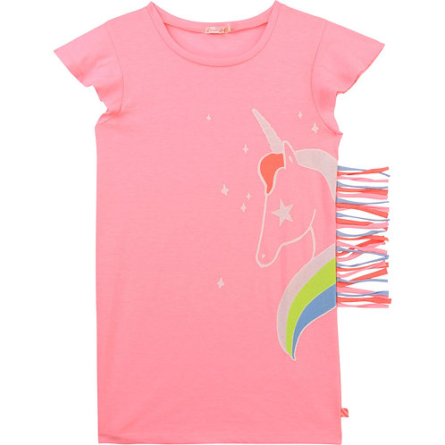 Billieblush short sleeved pink Jersey dress