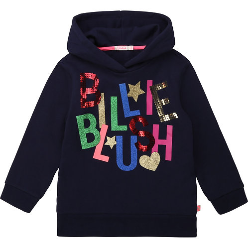 BILLIEBLUSH Hooded fleece sweatshirt