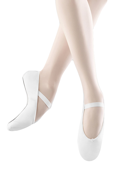 Bloch Arise Soft Leather Ballet Shoes White