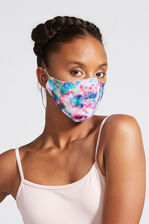 Bloch B-Safe  Adult Lanyard face Mask Dye