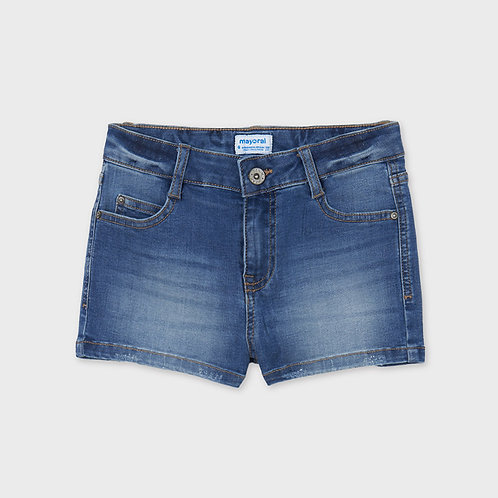 Mayoral Basic denim shorts Medium