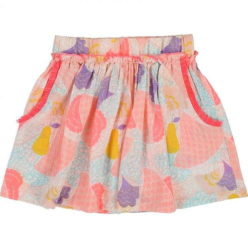 BILLIEBLUSH Girls pink Jacquard skirt