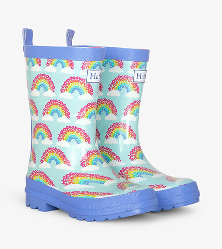 Magical Rainbows Shiny Rain Boots
