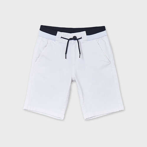 Mayoral structured shorts White