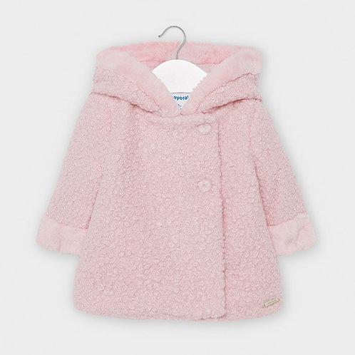 Mayoral Girls Coat in Rose