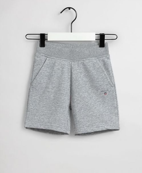 GANT Kids Original Sweat Shorts-Grey