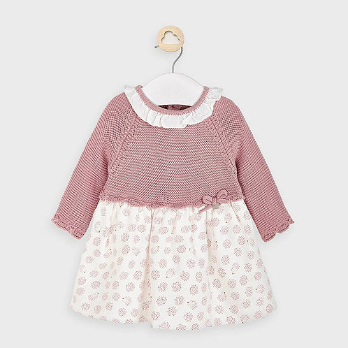 Mayoral knit Dress in Blossom