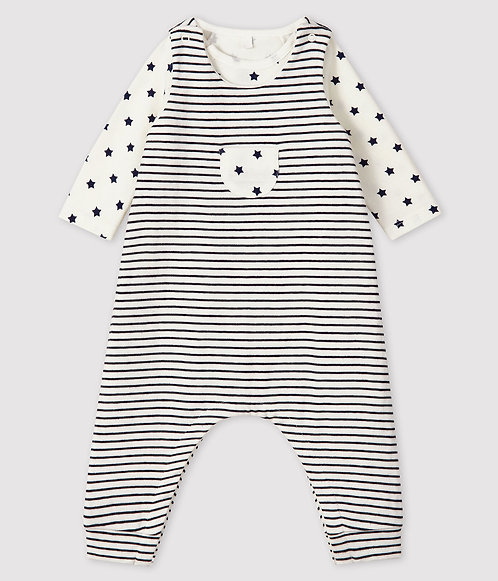 Petit Bateau Baby's  Knit Clothing - 2-Piece Set