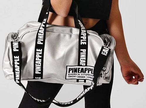 PINEAPPLE DANCEWEAR Mini Covent Garden Bag Holdall Gym Dance Silver