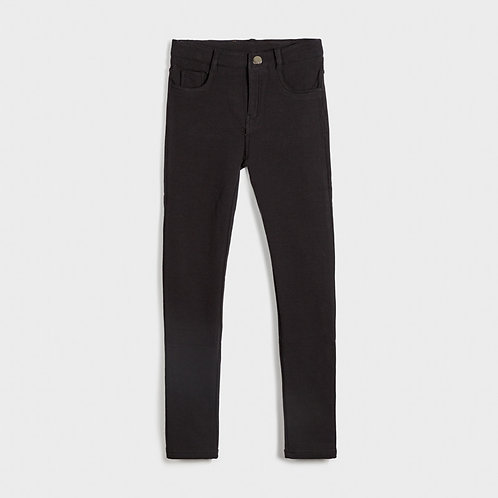 Mayoral Girls Fleece basic trousers in Black