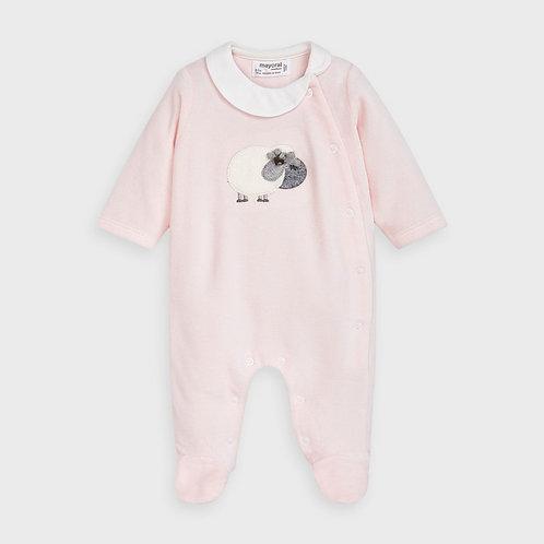 Mayoral Pajamas in Baby Rose