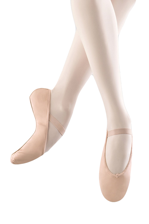 Bloch Arise Soft Leather Ballet Shoes Pink