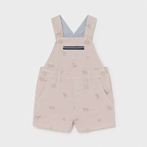 Mayoral Twill short overalls Canvas